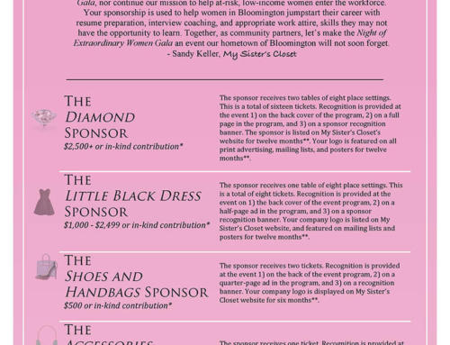 Night of Extraordinary Women Sponsorship