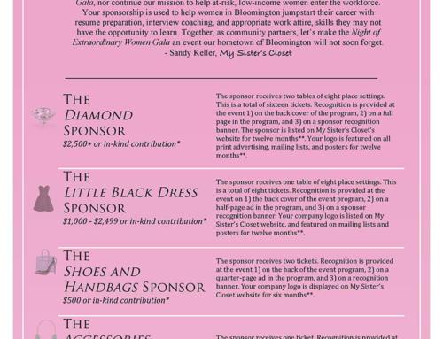 Night of Extraordinary Women Sponsorship