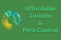 Affordable Termite and Pest Control Logo