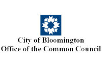 City of Bloomington Office of the Common Council Logo