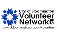 City of Bloomington Volunteer Network Logo