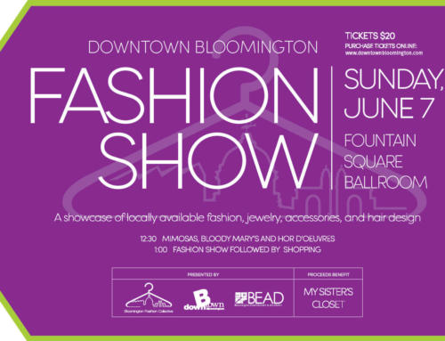 Downtown Bloomington Fashion Show