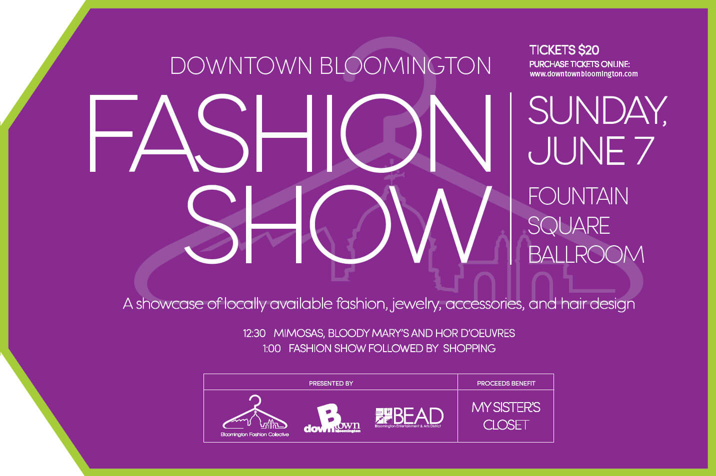 Fashion show invitation sample 38