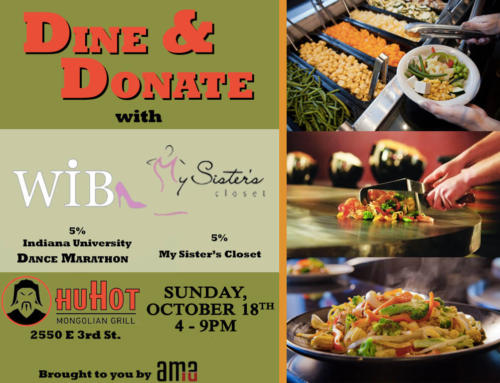Dine and Donate – HuHot Mongolian Grill – October 18