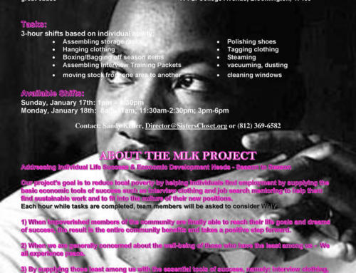 Martin Luther King Day On – Volunteer Call – Out
