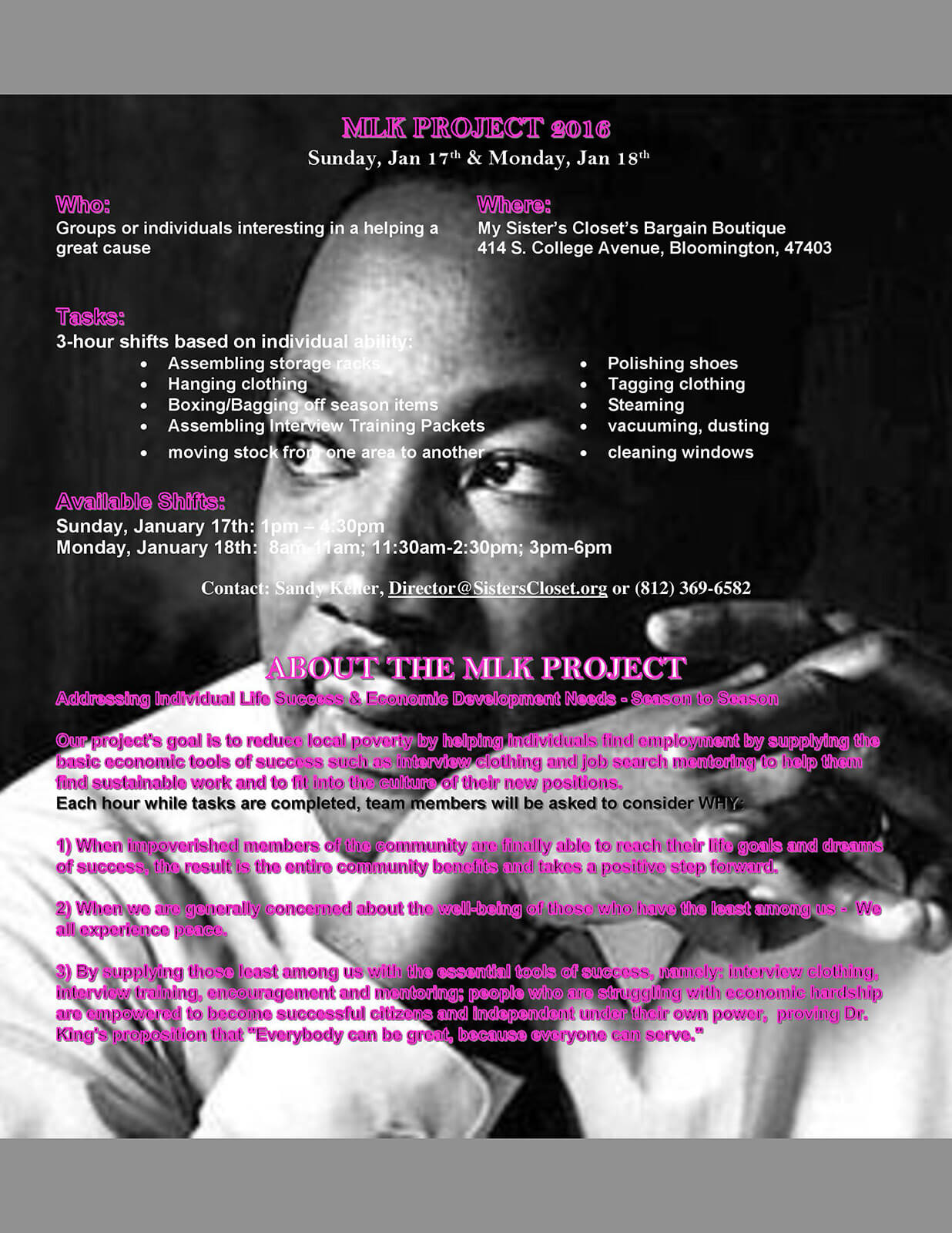 MLK Volunteer Flier Announcement Jan 2016 page 001