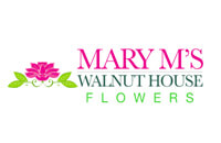 Mary M's Walnut House Flowers Logo