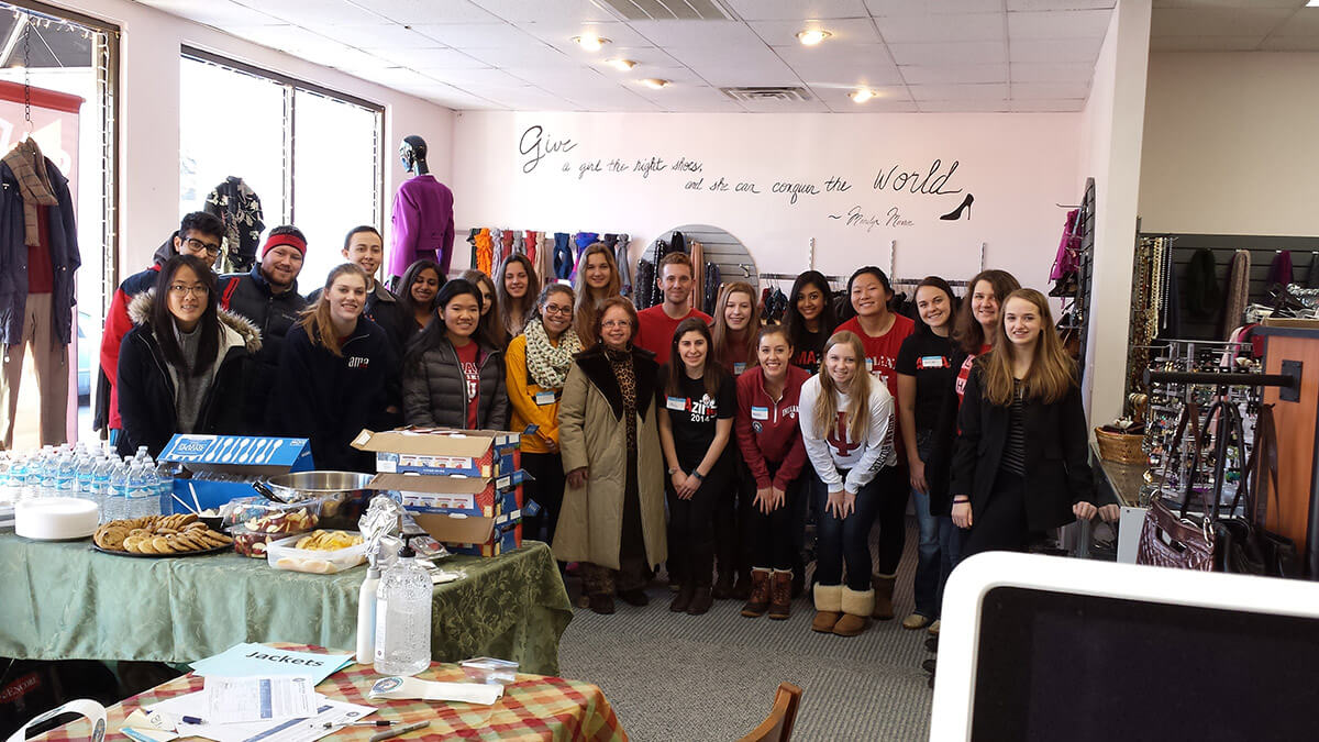 My Sister's Closet Bloomington - IU Volunteers