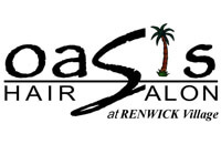 Oasis Hair Salon Logo