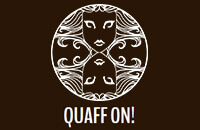 QUAFF-ON! Brewing Co. Logo