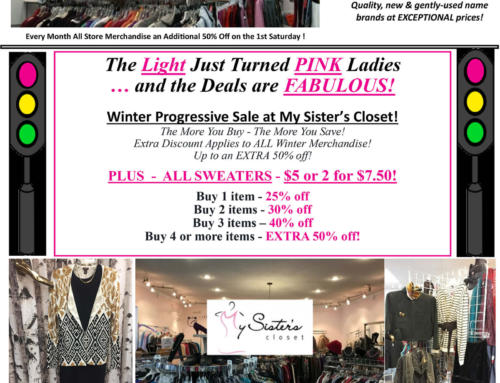 My Sister's Closet Newspaper ad – Jan 13, 2017