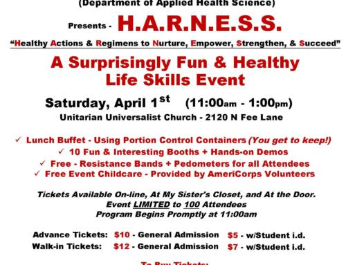 HARNESS – April 1, 2017