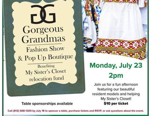 Gorgeous Grandma Fashion Show